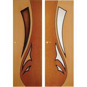 «Чайка» Нестандартные двери от производителя шпонированные фото