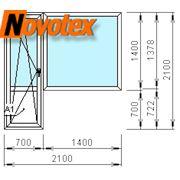 Продажа: Балконный блок Novotex Termo 5ти-камерный 9600 руб. фото