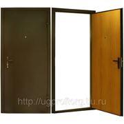 Металлическая дверь фото