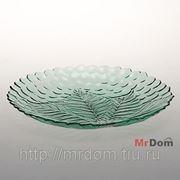 Тарелка из закаленного стекла sultana 6 шт. d=240 мм (грин) (758015) фото