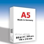 Бумага для принтера copy paper A5, 500 листов, 80 гр/м2, 210 х 148 мм SPPFA5C фото