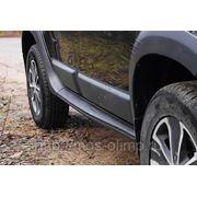 Расширители колесных арок с молдингами на двери (8 эл-в) Renault Duster 2010- фото