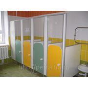 Туалетные перегородки для детских садов фото