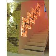 Светильник-панно из гималайской соли фото