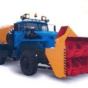Шнекороторный снегоочиститель КО 650У с дополнительным двигателем Используемое шасси 4320-1112-41 фото
