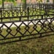 Декоративная ограда фото