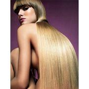наращивание волос - шелковистый водопад фото