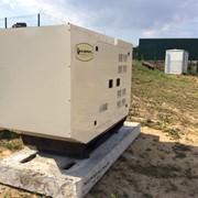 Электрогенератор дизельный UND 35 кВа в кожухе фото