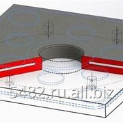 Седло резиновое для пробок 80, 100, 160, 200, 270 фото