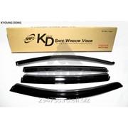 Дефлектор окон черный по 3 компл в упаковке Kyoung Dong, кросс_номер P822507001 фото