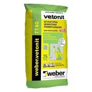 Штукатурка Weber-Vetonit TT40 25 кг фото