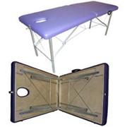 Маленький деревянный массажный стол фото