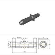 Опора неподвижная диэлектрическая стальная в полиэтиленовой трубе-оболочке d=89 мм, s=4 мм, L=150 мм фото