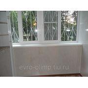 Отделка пвх-панелями(мрамор-бежевый)121-серия в Челябинске (.