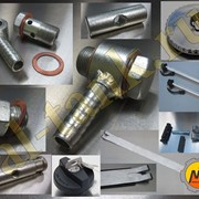 Алюминиевый топливный бак и комплектующие,фурнитура. фото