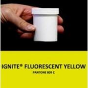 Жидкий светоотражающий флуоресцентный краситель желтого цвета Ignite Florescent Yellow фото