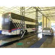 Комлексная мойка автобуса фото