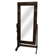 Зеркало в раме, декорированное природными материалами 70х60 см, арт. 990977/1 фото