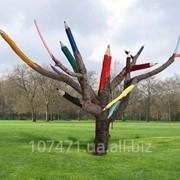Побілка дерев. фото