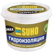 Мастика битумная Изовакс SUHO гидроизоляционная на водной основе, 10 кг фото