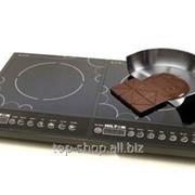 Индукционная плита двойная фото