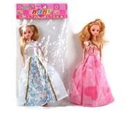 Кукла 11.5 в бальном платье с гнущимися ногами в пак.,100699311/NN