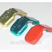 Номерные металлические Крабсил цветной (1000 шт) фото