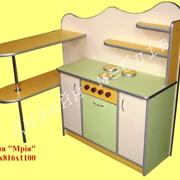 """Кухня дитяча """"Мрія"""" 1140х816х1100 фото"""