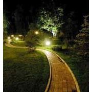 Садово парковое освещение фото