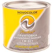 Грунтовка ГФ-021 Новоколор (красно-корич) фото