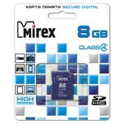 Карты памяти SDHC MIREX 8GB фото