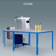 Установка для розлива и укупоривания масла М8–МРШ фото