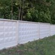 Железобетонные элементы оград фото