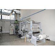 Экструзионная линия TECOM со встроенной 2-х цветной печатной машиной, 900 мм, 50 кг-ч (ID eх#4) фото