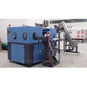 Автомат выдува пэт производительностью 6000 бвч, гидравлическое смыкание прессформы на 6 гнезд фото