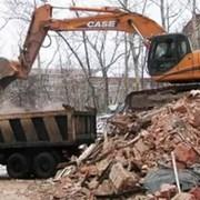 Демонтаж и утилизция строительного мусора фото