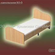 Кровать односпальная КО-3 фото