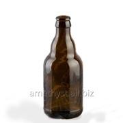 Пивная стеклянная бутылка Шорт 0.33 л фото