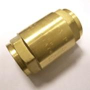 Клапан обратный латунный d25-63