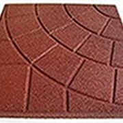 Квадратная однотонная плитка PlayMix, сетка, паутинка для садовых участков фото