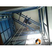 Грузовой подъемник (лифт) шахтный фото