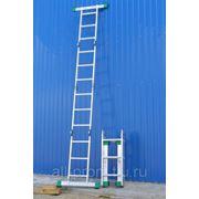 Лестницы-трансформеры 4-х секционные фото