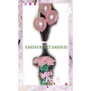 Букет из шаров - розы фото