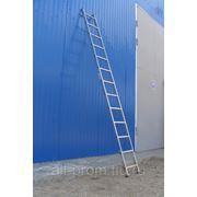 Лестницы односекционные алюминиевые фото