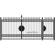 Ворота и калитка: Классика, модель 001 фото