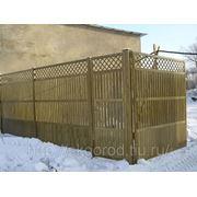 Забор, ворота фото