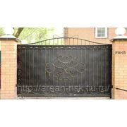 Кованые ворота Арт. КВ-05 фото