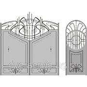Кованые ворота №50 фото