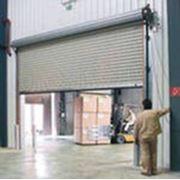 Ворота промышленные фото