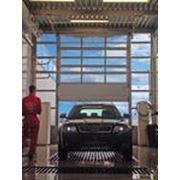Промышленные секционные ворота DoorHan ISD02 фото